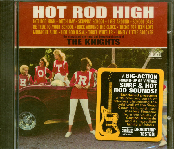 Hot Rod High (CD)