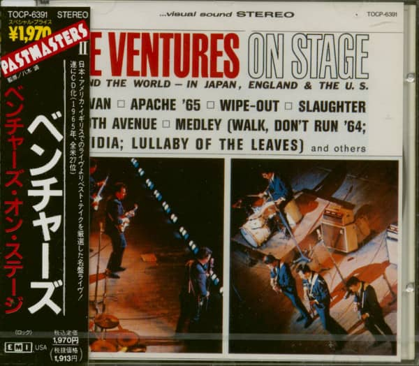 On Stage - Around The World (CD Japan)