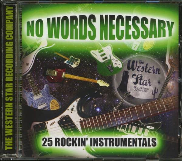 No Words Necessary - 25 Rockin' Instrumentals (CD)
