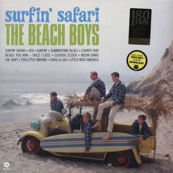 Surfin' Safari (1962)...plus 180g (incl. album download)