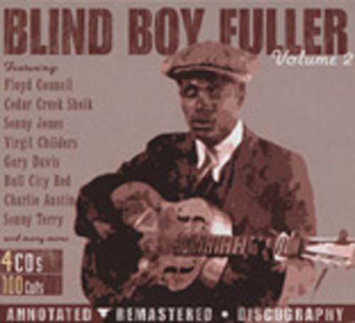 Blind Boy Fuller Vol.2 (4-CD Box)