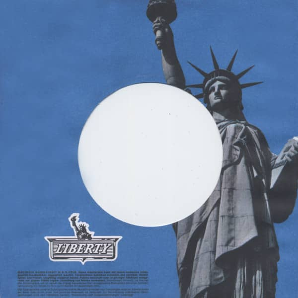 (50) Liberty - 45rpm record sleeve - 7inch Single Cover
