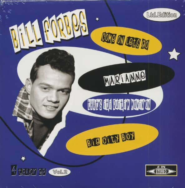 Bill Forbes Vol.2 (7inch, 45rpm, EP, PS)