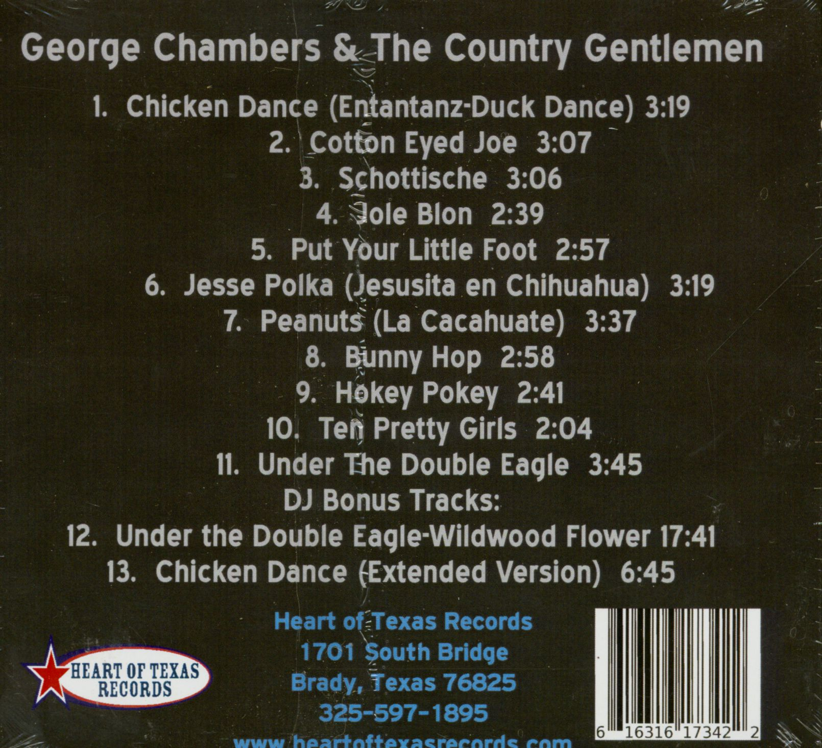George Chambers Cd George Chambers And The Country