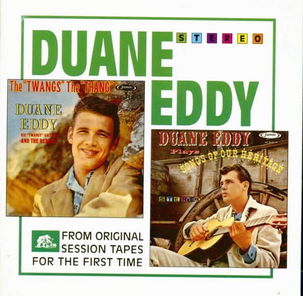 The Twang's The Thang - Duane Eddy Plays Songs Of Our Heritage (CD)