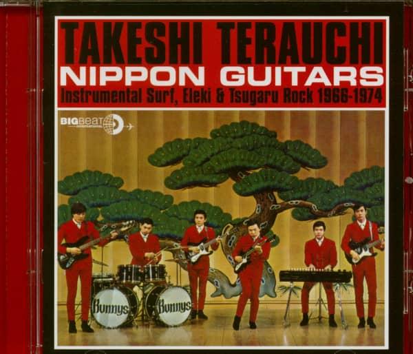 Takeshi Terauchi Cd Nippon Guitars Cd Bear Family Records