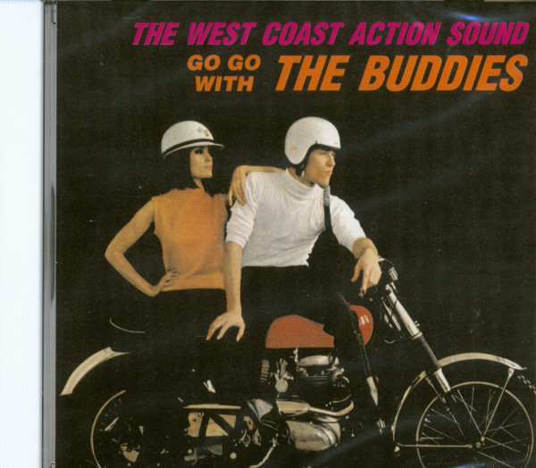 The West Coast Action Sound - Go Go With The Buddies (CD)