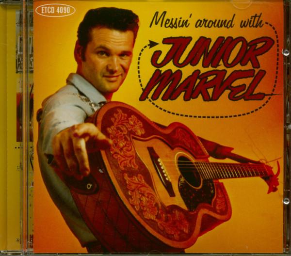 Messin' Around With Junior Marvel (CD)