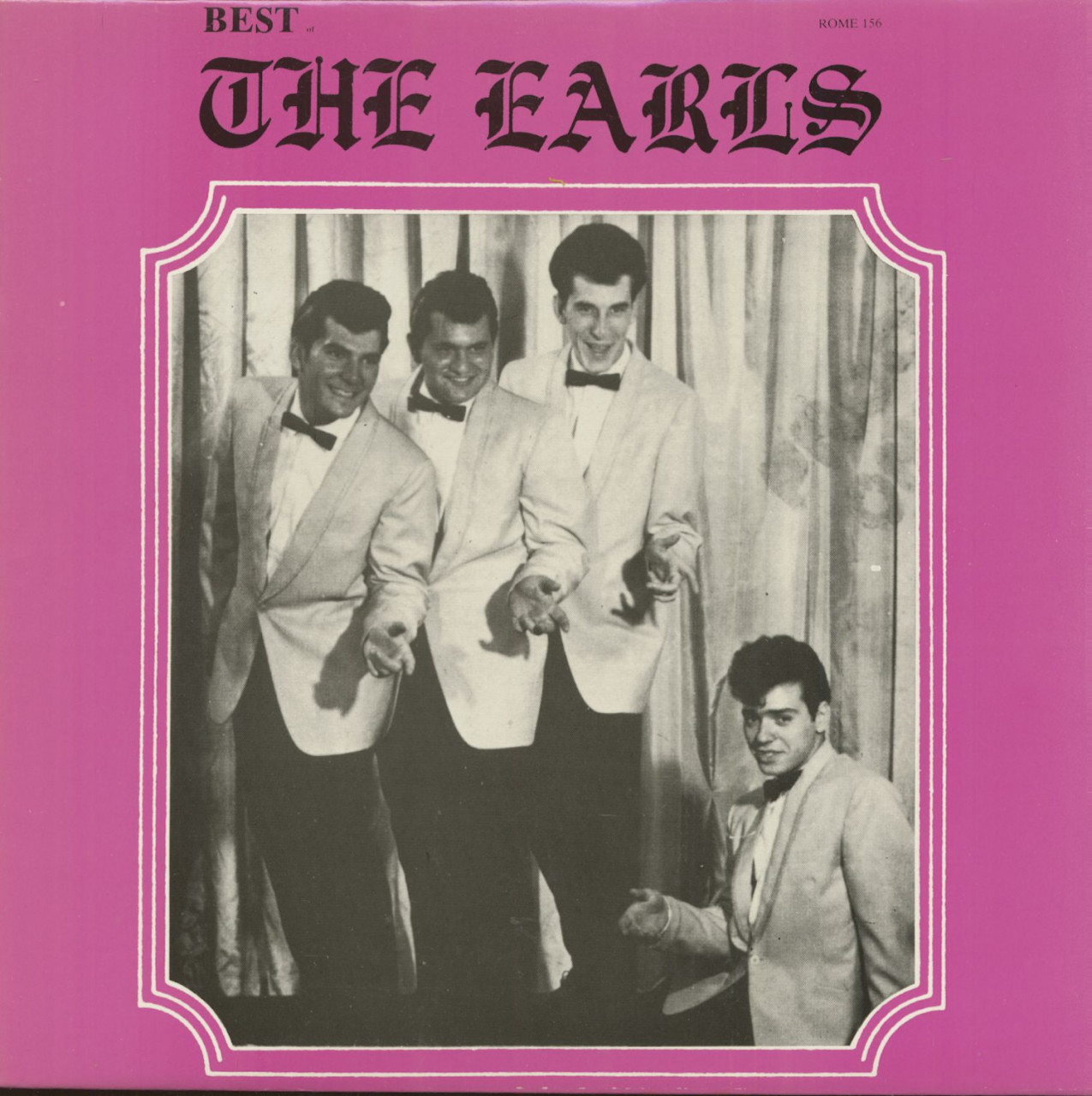 The Earls - Best Of The Earls (LP)