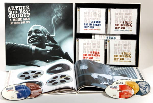 A Music Man Like Nobody Ever Saw (5-CD Deluxe Box Set)