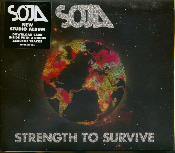 SOJA - Strength To Survive (CD)