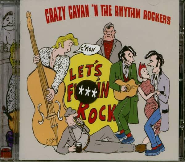C'mon Let's F***in' Rock (CD)