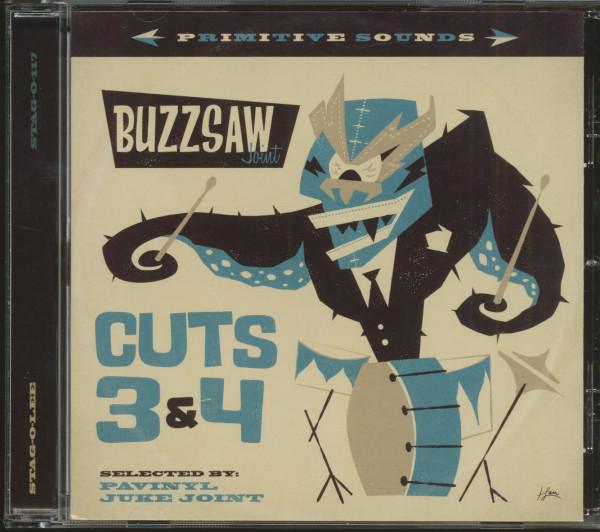 Buzzsaw Joint - Cuts 3 & 4 (CD)