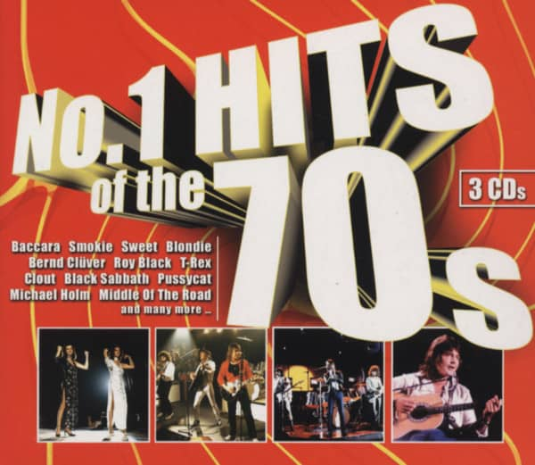 No.1 Hits Of The 70s (3-CD)