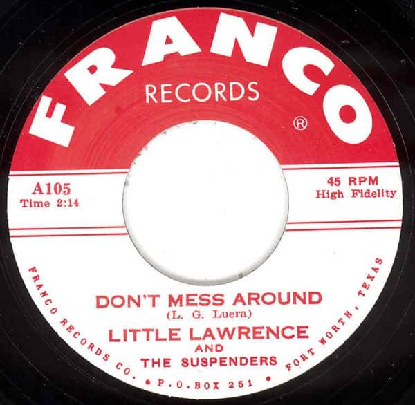 Don't Mess Around - Babee 7inch, 45rpm