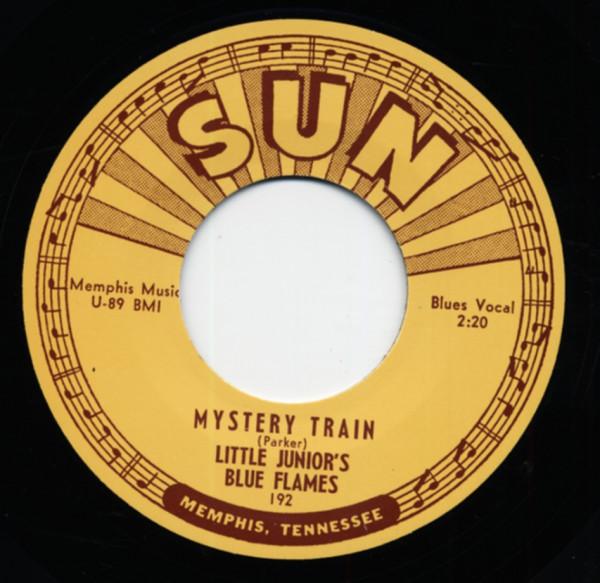 Mystery Train (original version) b-w Love My Baby 7inch, 45rpm