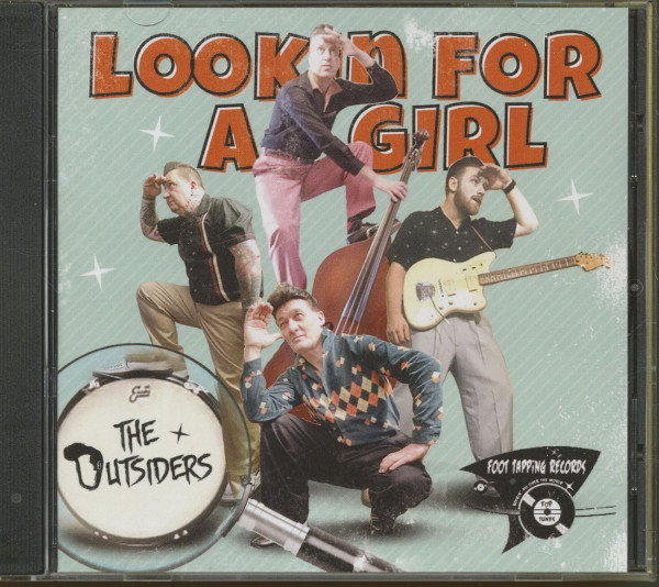 Lookin' For A Girl (CD)