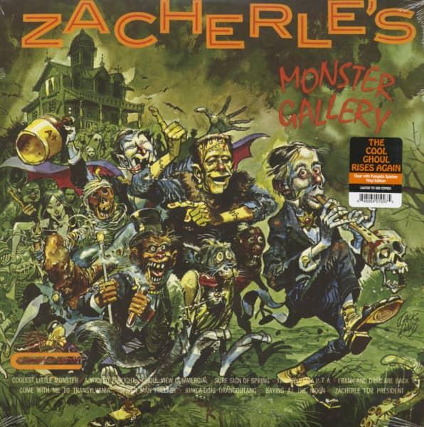 Zacherle's Monster Gallery (LP, Colored Vinyl)
