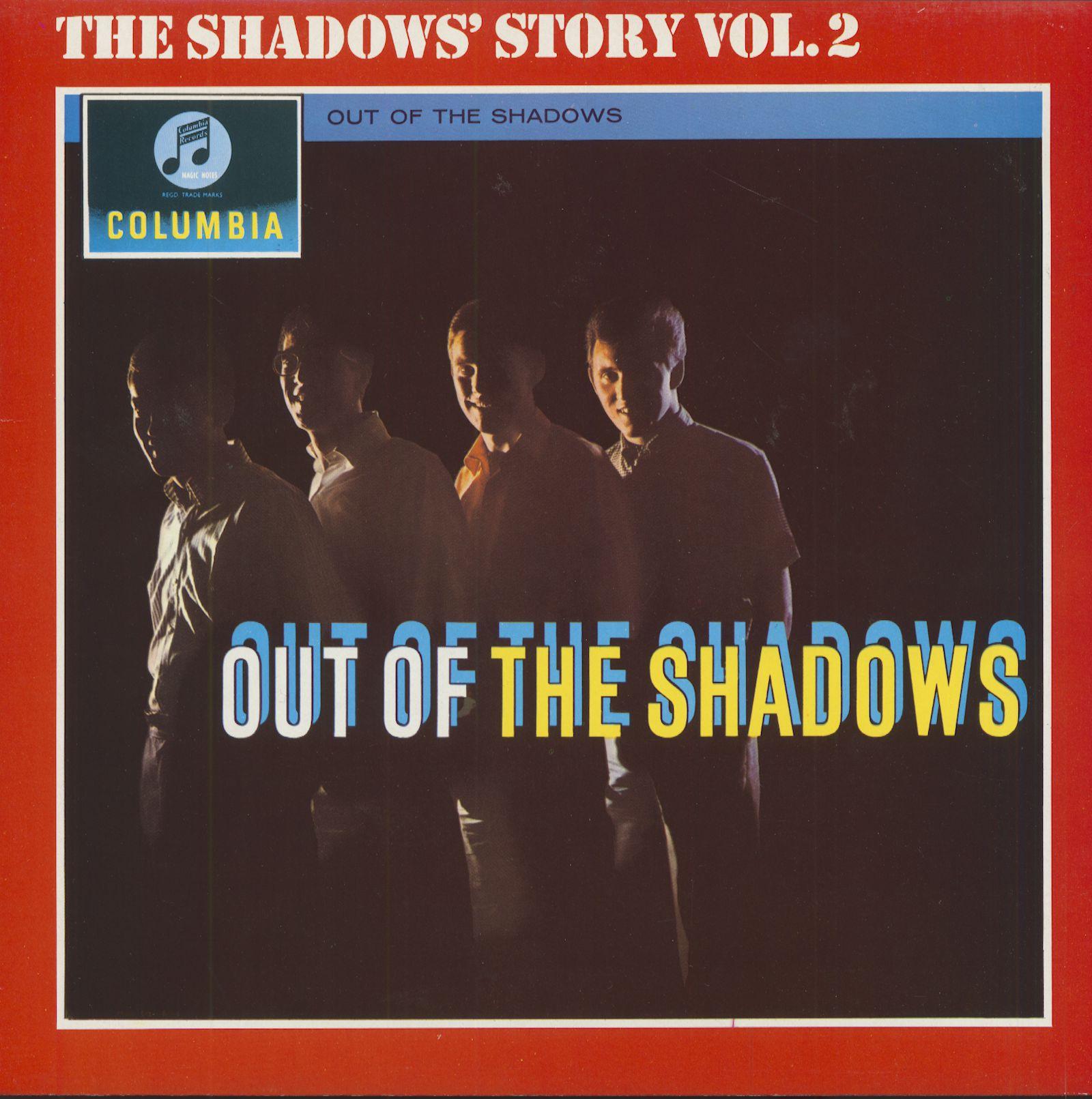 The Shadows Lp Out Of The Shadows The Shadows Story Vol