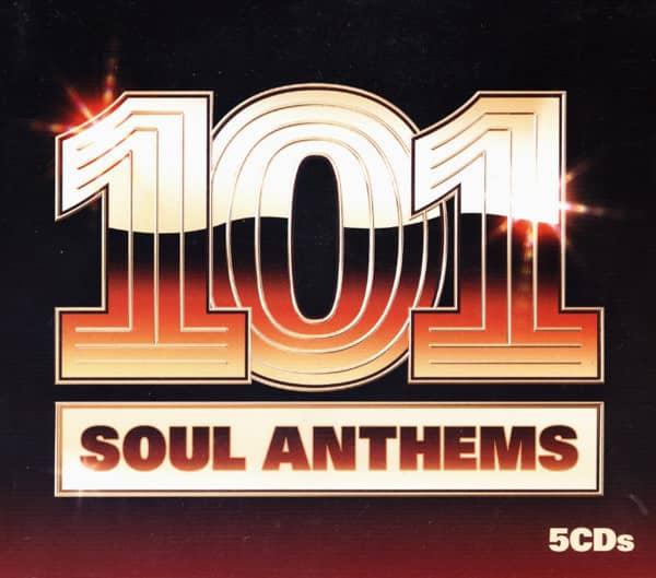 101 Soul Anthems 1963-95 (3-CD)