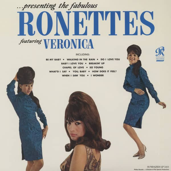 Presenting The Fabulous Ronettes Featuring Veronica (LP,180g Vinyl, Mono)