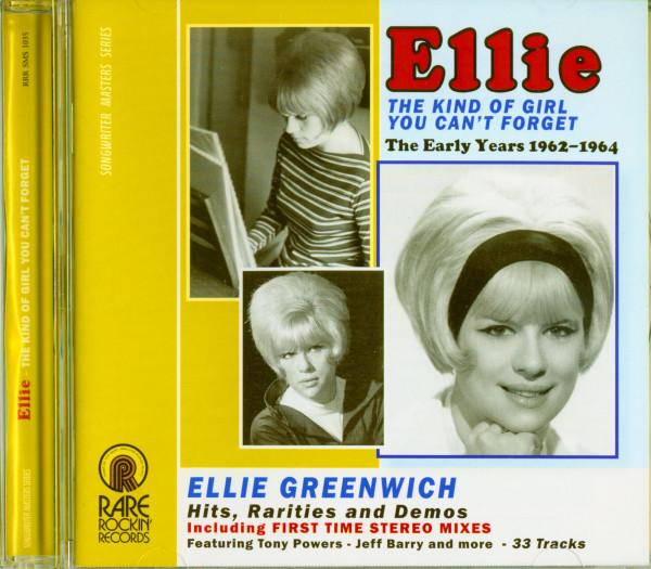 Ellie - The Kind Of Girl You Can't Forget - The Early Years 1962-1964 (CD)