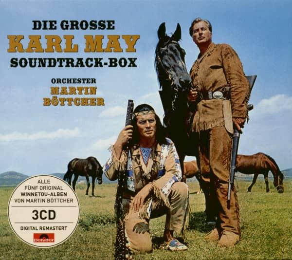 Die große Karl May Soundtrack-Box (3-CD)