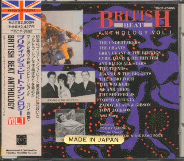British Beat Anthology, Vol.1 (CD, Japan)