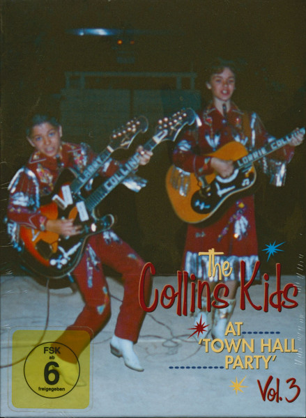 The Collins Kids At Town Hall Party Vol.3 (DVD)