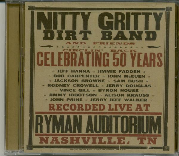 Circlin' Back-Celebrating 50 Years (CD)