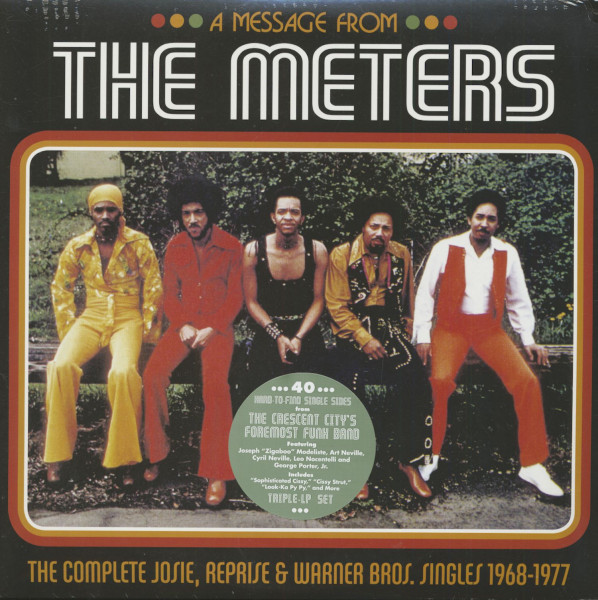 A Message From The Meters - The Complete Josie, Reprise And Warner Bros. Singles (3-LP)