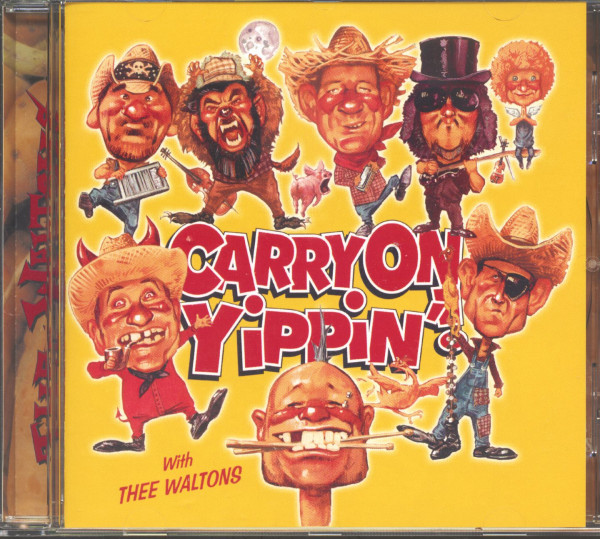 Carry On Yippin'! (CD)