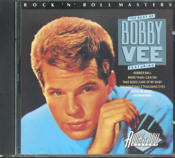 The Best Of Bobby Vee - Rock'n'Roll Masters (CD)