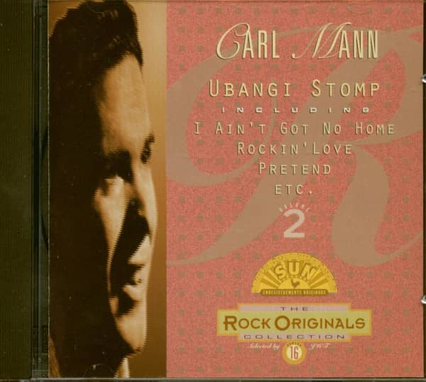 Collection Rock Originals Vol.16 - Carl Mann Vol.2 (CD)