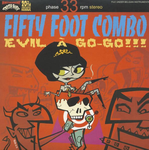 Evil A Go-Go (LP)