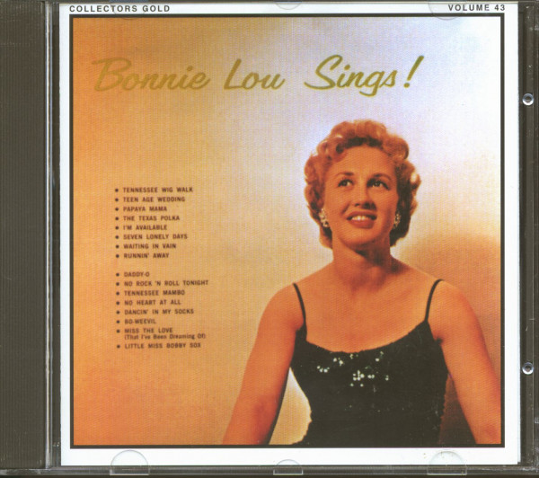 Bonnie Lou Sings! (CD)