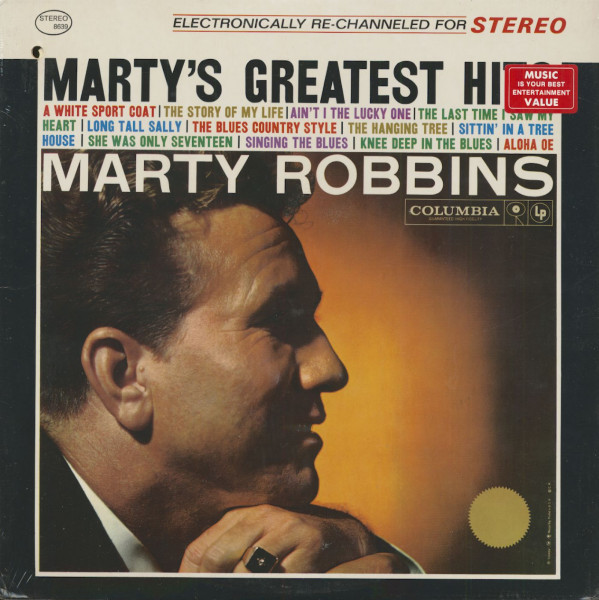 Marty's Greatest Hits (LP)
