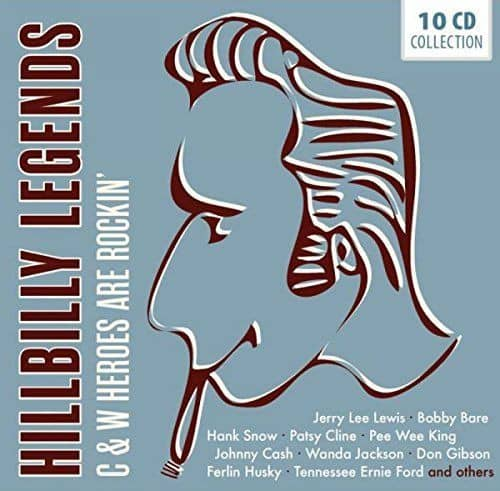 Hillbilly Legends (10-CD)