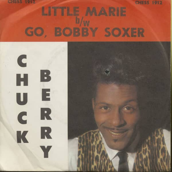 Little Marie - Go, Bobby Soxer (7inch, 45rpm, PS)