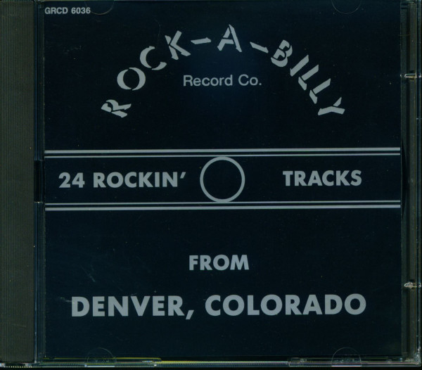 Rock-A-Billy Record Co. Sampler (CD)