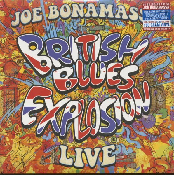 British Blues Explosion Live (3-LP, 180g Vinyl, Ltd.)