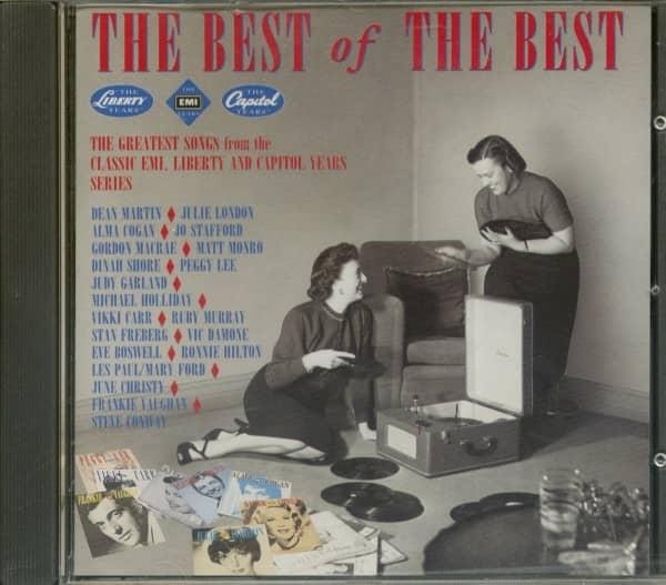Best Of The Best - EMI, Capitol, Liberty (CD)