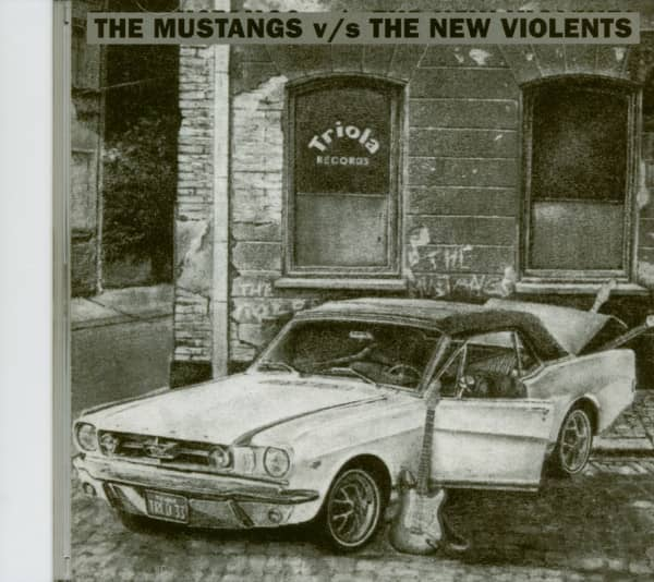 Mustangs v - s New Violents (CD)