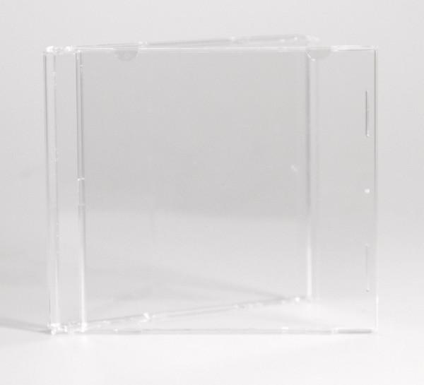 CD Leerhülle - Durchsichtig ohne Tray für 1-CD