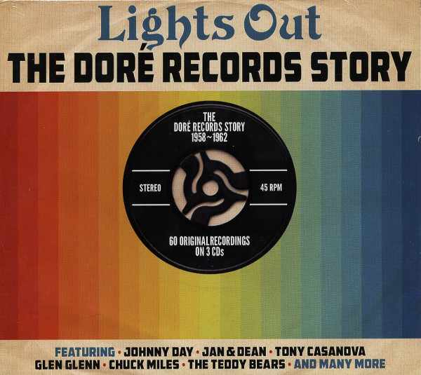 Lights Out - The Dore Records Story (3-CD)