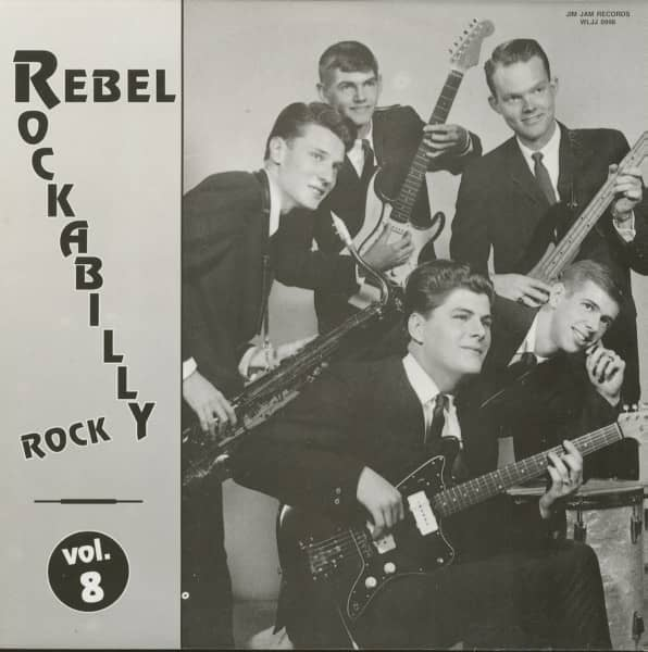 Rebel Rockabilly Rock Vol.8 (LP)