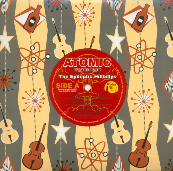 Atomic - It's The Bomb (10inch LP, color vinyl)
