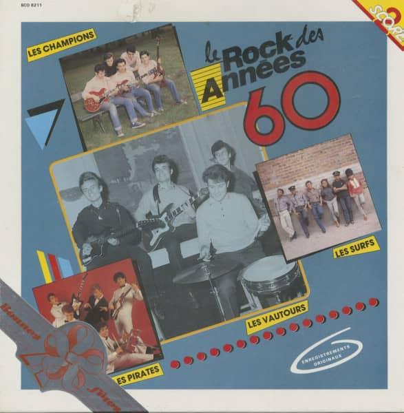 Le Rock Des Annees 60 (2-LP)