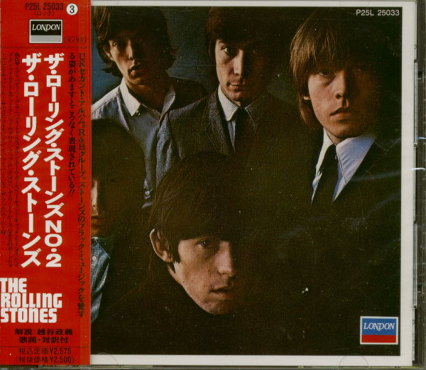 The Rolling Stones No.2 (CD, Japan)
