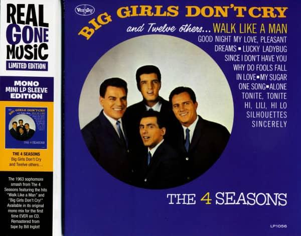 Big Girls Don't Cry (cardboard sleeve)